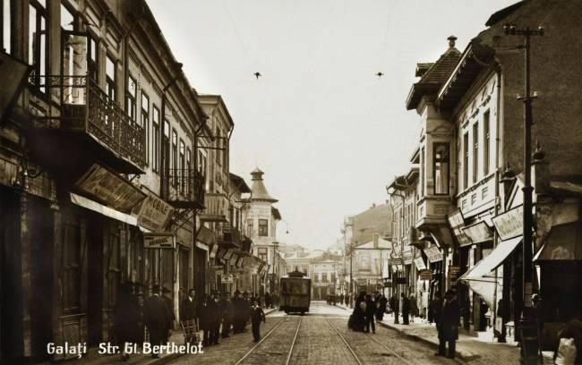 Galatiul vechi str General Berthelot azi Nicolae Balcescu
