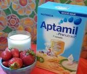 Ingrediente Reteta Spuma de capsune cu cereale Aptamil