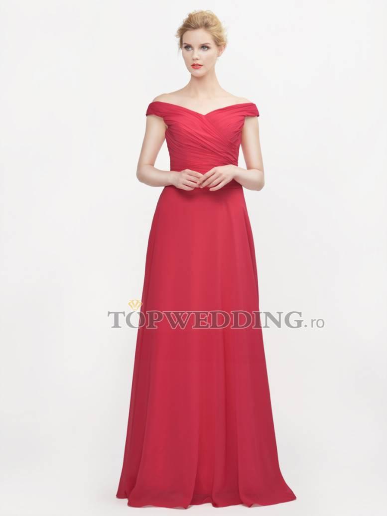 rochiede  seara rosie topwedding