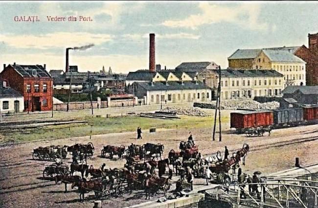 galati imagini din portul vechi