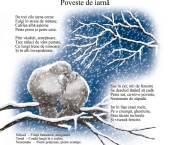 poveste de iarna Lidia Batali