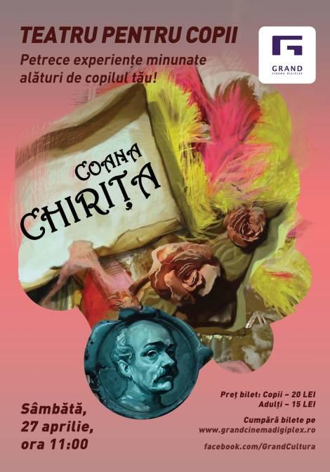 teatru pentru copii Coana Chirita