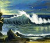 valurile marii