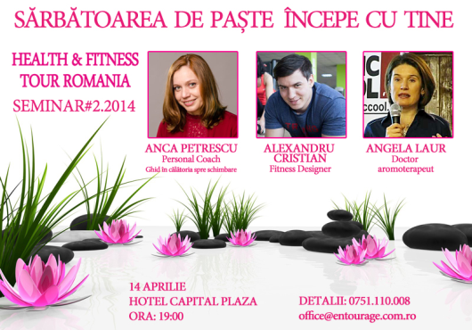 Seminar Health  Fitness Tour Romania